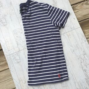 POLO BY RALPH LAUREN Striped Crew Neck Tee Tshirt